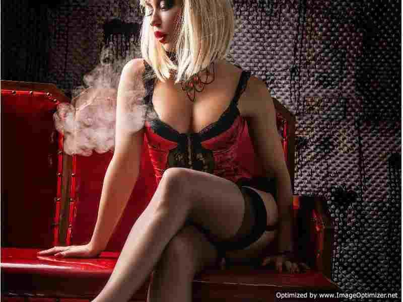 smoking fetish online