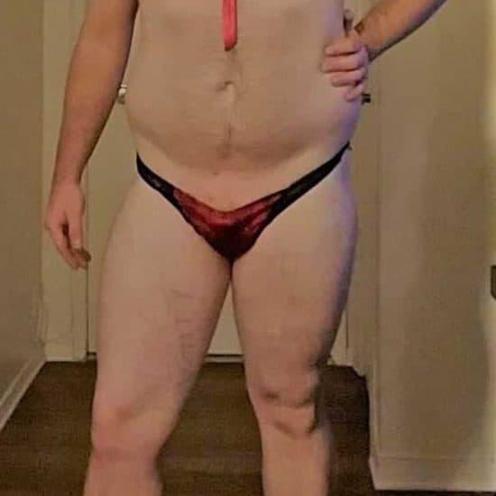 sissy in panties